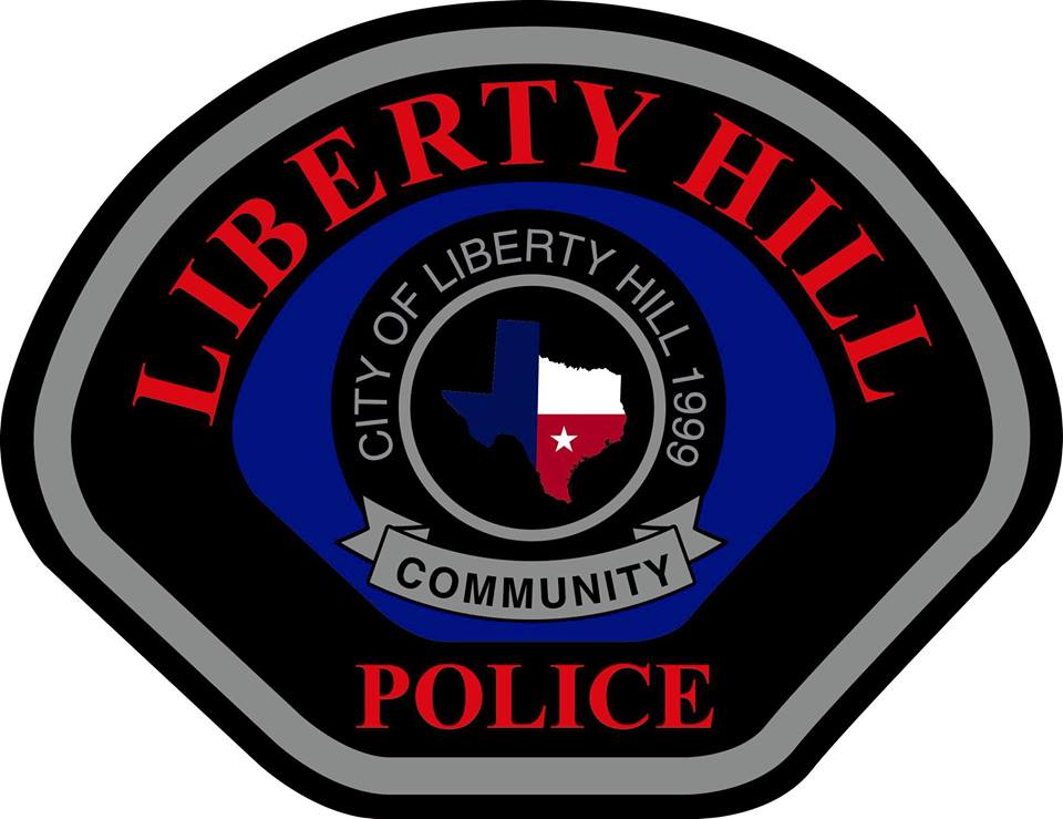 liberty hill police badge