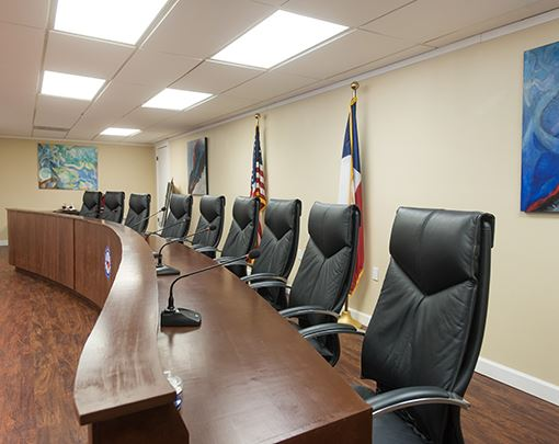 city council meeting room